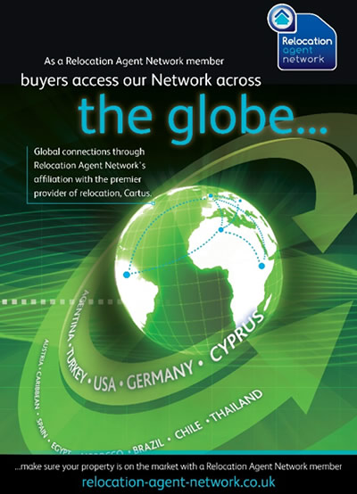 Relocation Agent Network global