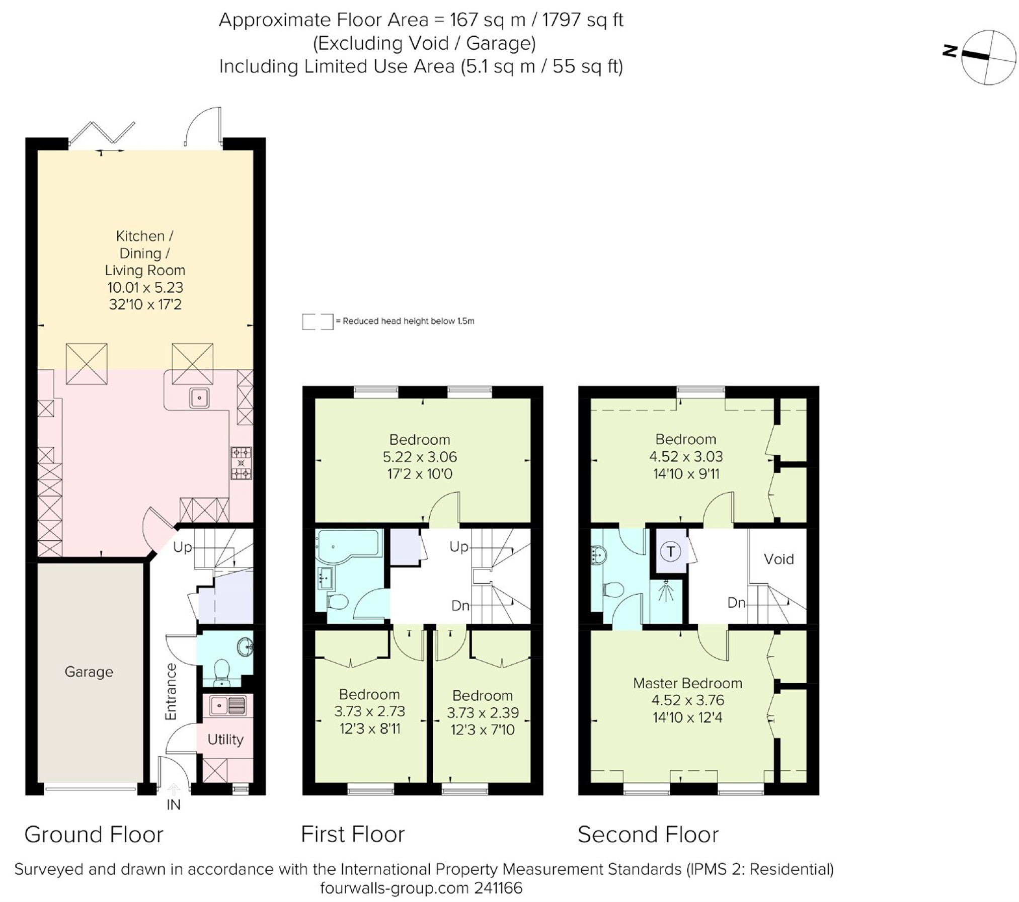 Floorplans For Bond Close, Iver Heath, Buckinghamshire