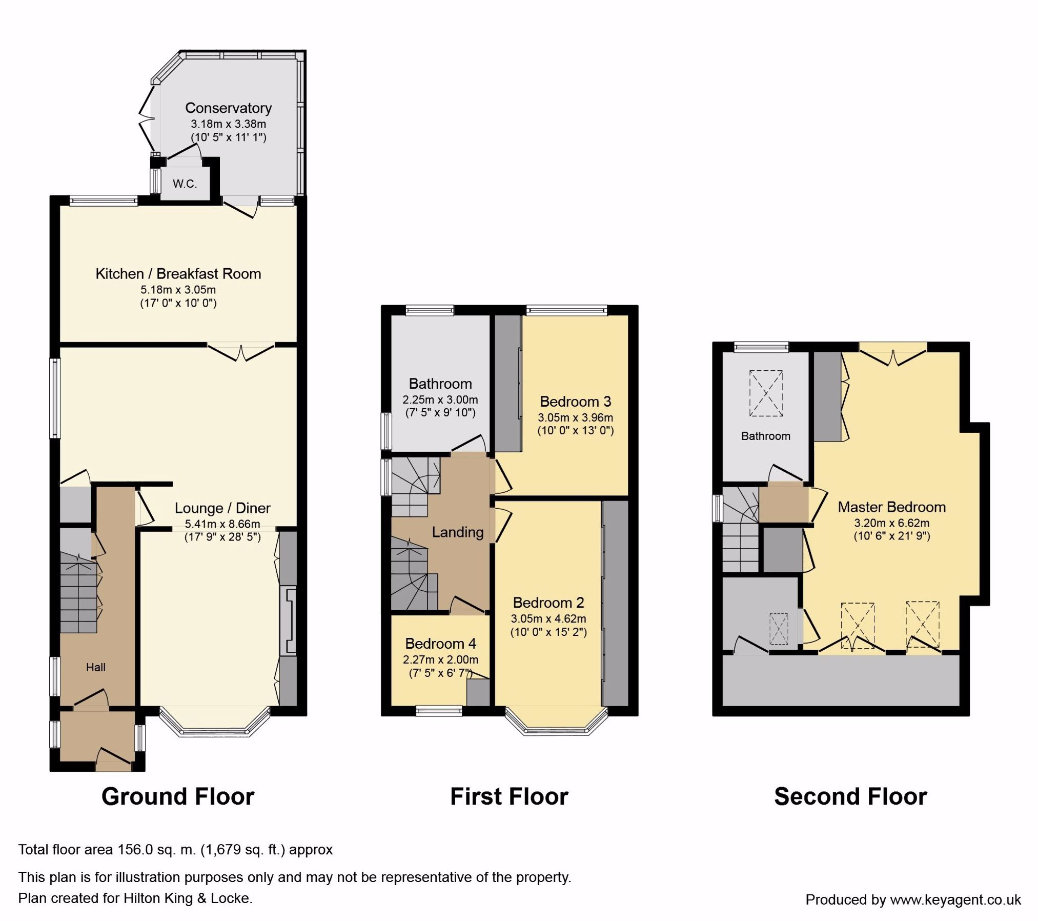 Floorplans For Mellow Lane East, Hayes End, Middlesex