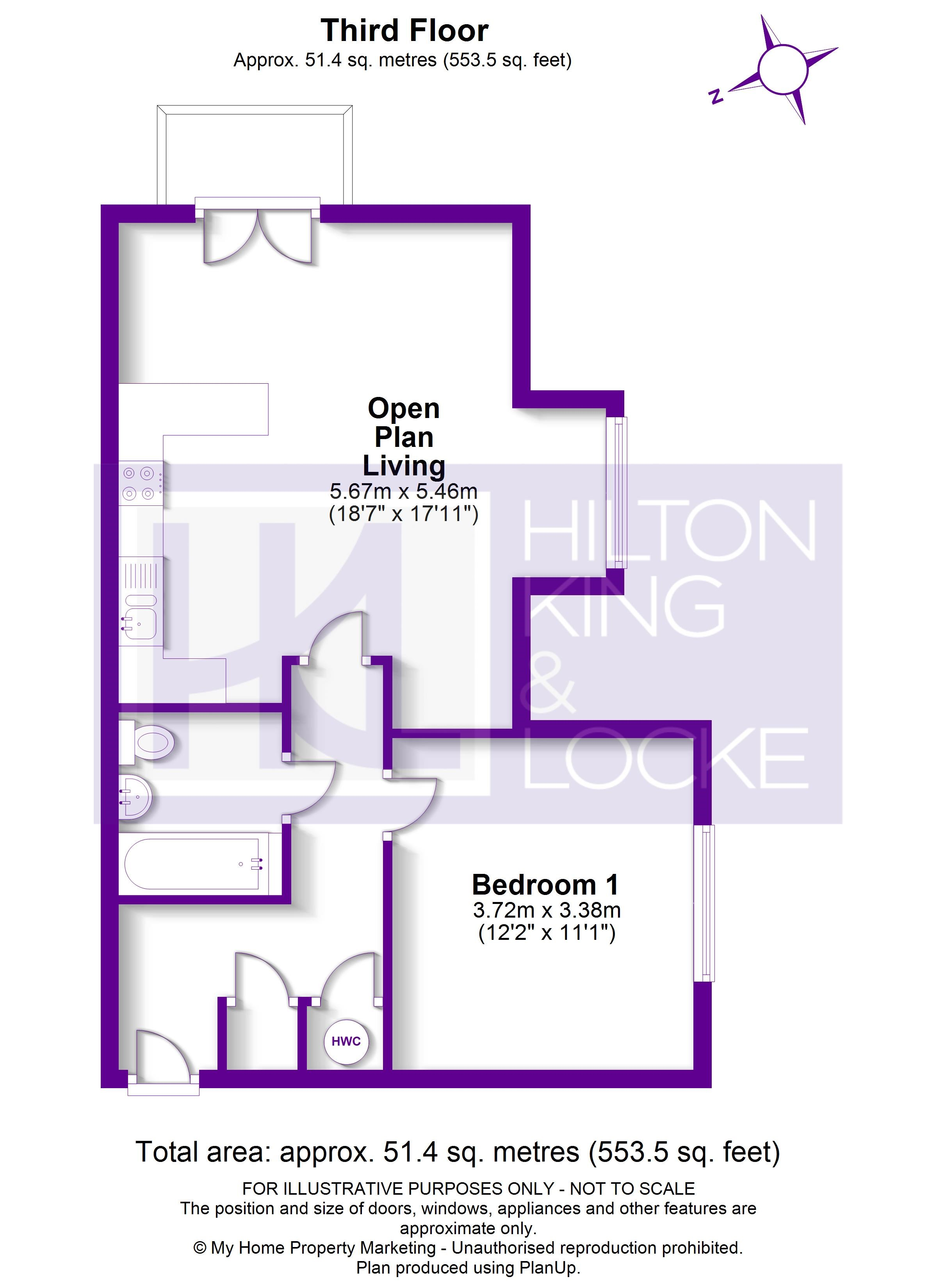 Floorplans For Coopers Rise, High Wycombe, Buckinghamshire