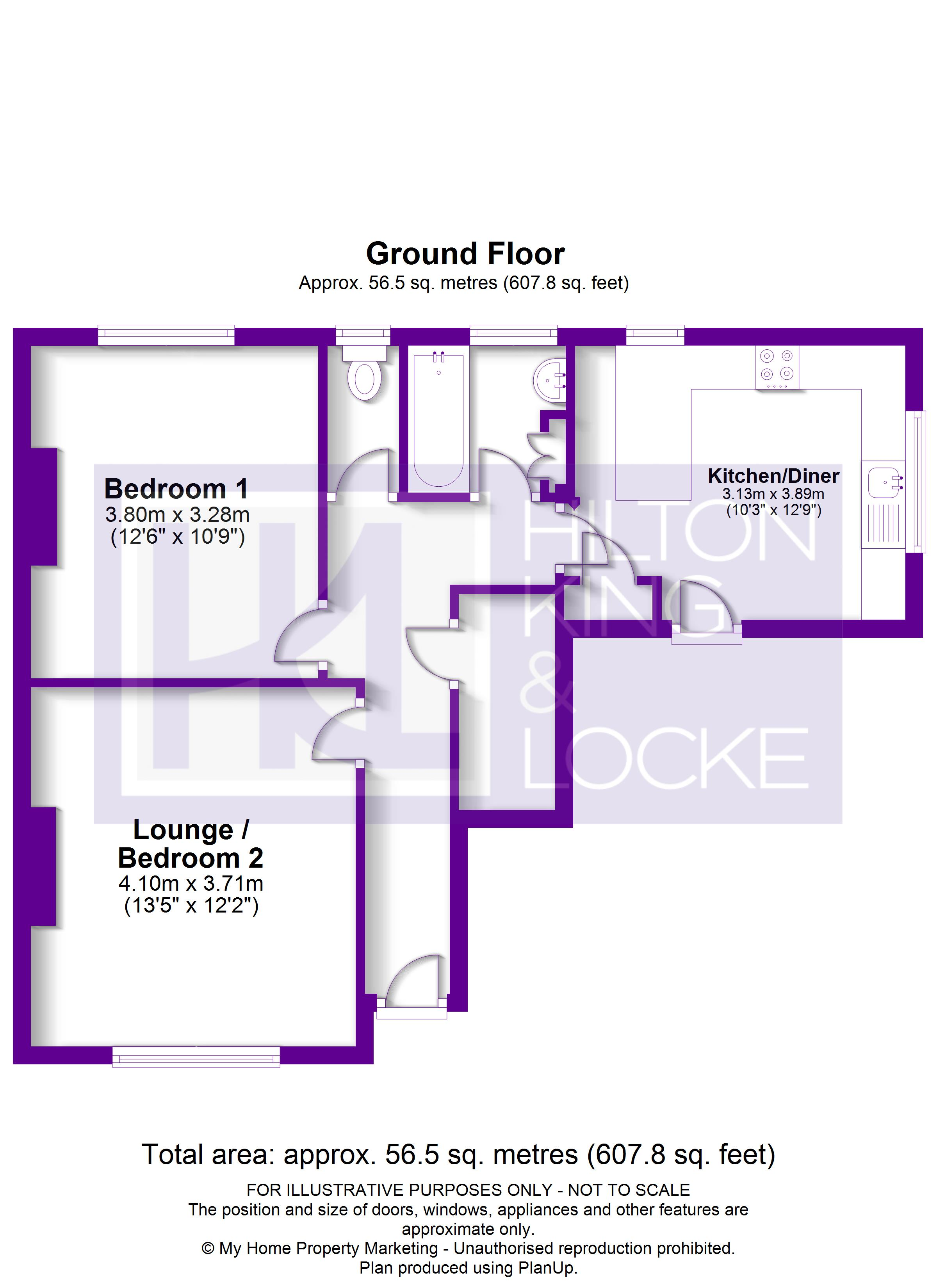 Floorplans For Green Lawns, Eastcote, Middlesex